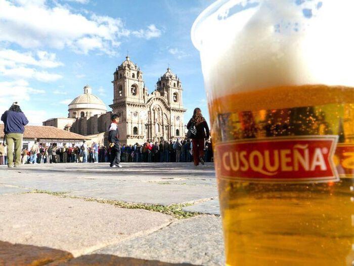 Cuzco Cusco Plaza De Armas Cusco Peru CuzqueñaTime CUSQUEÑA Cerveza Beer Beer Time Beerporn Birra Birra Time