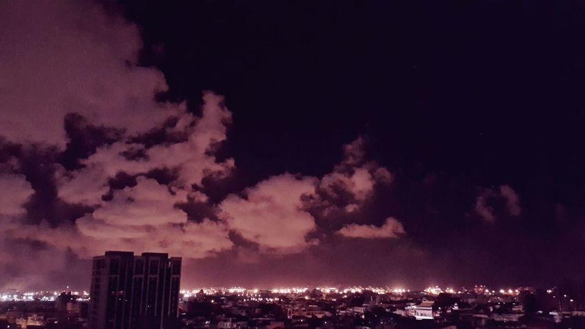 🍭夜的迷惘☁Clouds And Sky Sunset_collection Bkue Sky EyeEm Best Shots - Sunsets + Sunrise EyeEm Best Shots Nightphotography City Lights CoolNight Skyviewers Night Photography