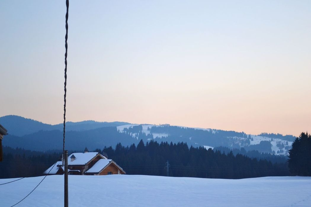 Winter vibes It's Cold Outside Asiago Canove Altopiano Veneto Italy Montagna Mountain Landscape Paesaggio Natura Nature View Snow Neve House Roof Chimney White Cold Serenity Home Is Where The Art Is The Magic Mission Ice Age