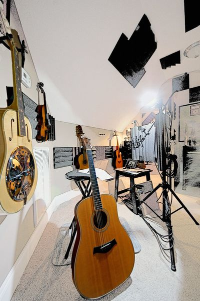 Ace of Diamonds Studio Making Music Interior Photography Abstract