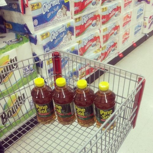 When I shop with my Mom . @jennifer811w Pinesol Sheloves it CleanFreak