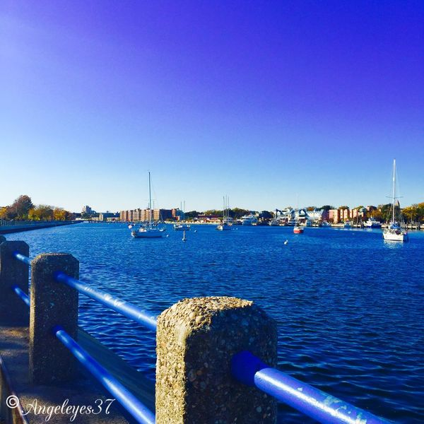 By The Bay Blue Sky Blue Water First Eyeem Photo Water Reflections Relaxing Taking Photos Picoftheday Sailboats Sail Away, Sail Away Sailboat
