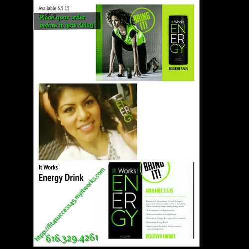 What kind of energy drink, you drink? I offer you a new Energy Drink, is not that common drink... it's base of fruit extract all natural! http://fit4success45.myitworks.com Fit4success45.myitworks.com Energydrink Looseweight Check This Out Never Stop Dreaming Detox ItWasAmazing It Works Crazy Body Wraps Hello World