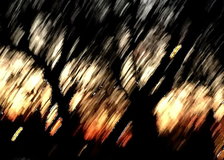 The Places I've Been Today Blur Sunset Trees Orange Photography As Painting IPhoneography Iphone6 sometimes the unintentional becomes the favorite Unintentional NEM Mood