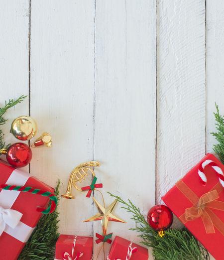 Christmas decoration hanging on wall