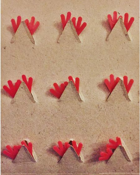 Chicks feet. Chick Easter Red Feet Funny Pattern Cardboard Packaging Plastic Holiday Happy Easter