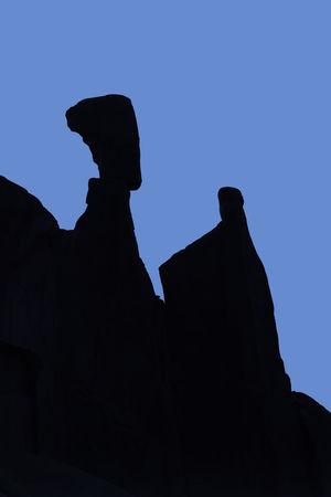 Nefertiti's head, Arches National Park, Utah, USA Ancient Arid Climate Arid Landscape Black Blue Desert Desert Beauty Deserts Around The World Eroded Landscape Eroded Rocks Erosion Effects Formation Hot Nefertiti Nefertiti's Head Pattern Sandstone Sculpted Sculpted Rocks Sea Floor Seabed Silhouette