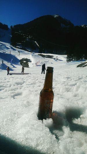 Relaxing Snowboard Piancavallo Beer