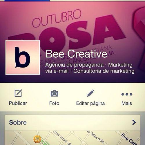 Bee Creative adere ao Outubro Rosa. Todos juntos na luta contra o cancer. Cancer Outubrorosa Beecreative