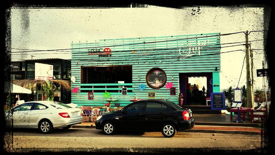 colourful bar La Barra, Punta Del Este