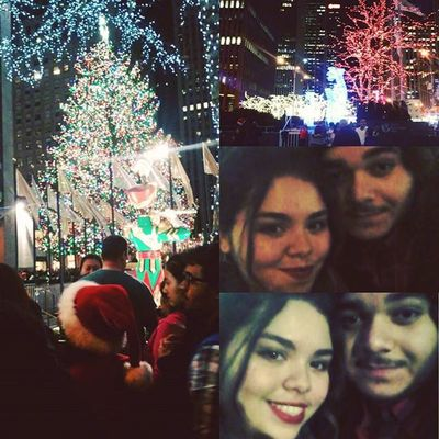 Spend Christmas eve with the love of my life downtown had alot of fun truely a day i wont forget.This girl is my life 💗💗💗 Girlfriend Downtown Happynerd 42ndStreet Rockfellercenter Christmas Loveofmylife Manhattan Fun Sweetheart Greatday Christmasspirit