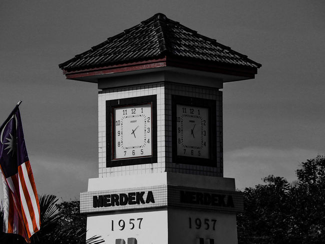 Built Structure Architecture Tower Text Clear Sky City Sky Travel Destinations Culture Tall - High City Life Outdoors Capital Cities  Tourism No People Tall Kulim Kedah Malaysia
