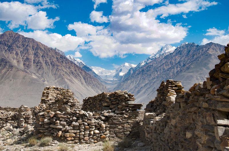 Fortress 5th-3rd century bc tajikistan