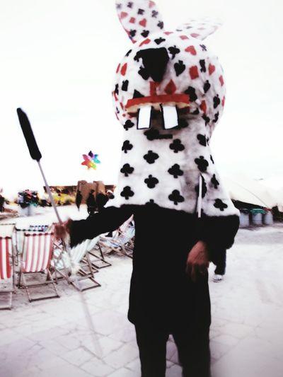 Bansky Artist Dismaland Rabbit Scary Rabbit♡