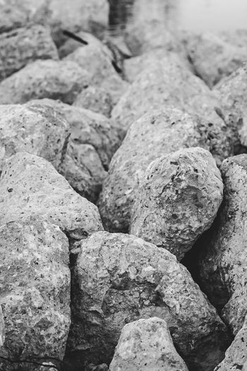 Backgrounds Beach Close-up Day Detail Focus On Foreground Full Frame High Angle View Land Large Group Of Objects Nature No People Outdoors Rock Rock - Object Rough Selective Focus Solid Still Life Textured