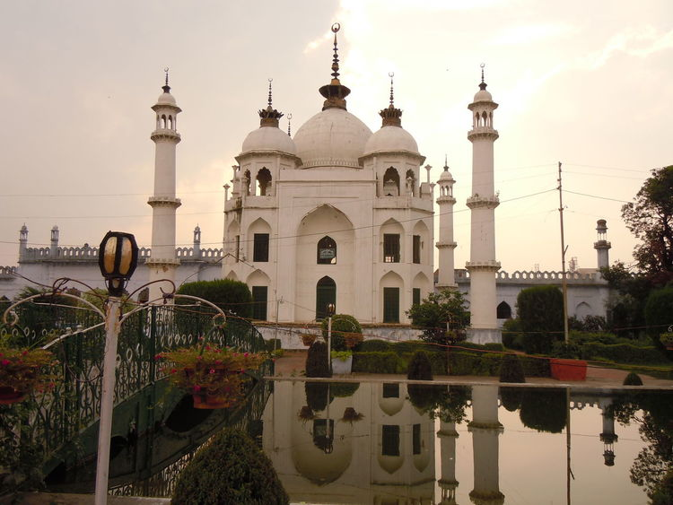 01199 Chota Imambara- Lucknow-India Architecture City Cultures Day Dome Fountain Horizontal No People Outdoors Place Of Worship Religion Sky Spirituality Travel Travel Destinations