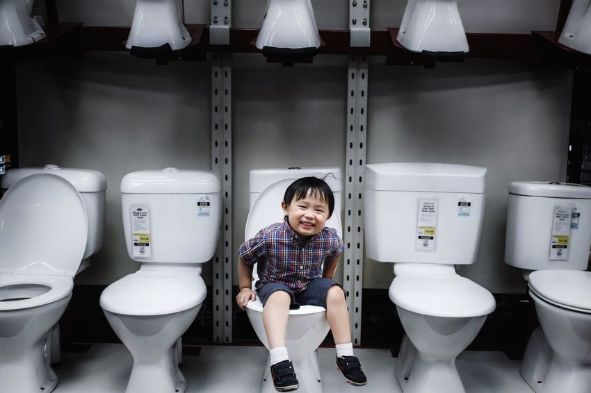 • Cheeky little 🐵 • up to no good or not ?!This just cracks me up 😂🙊🙈 he sat on them n said look at me mum I'm making a poop 💩 😝 Kids Family Boys Will Be Boys Being Cheeky Toilet Portrait Snapshots Of Life Sydneylocal The Moment - 2015 EyeEm Awards Open Edit