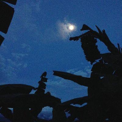 Linda noche :) Luna Buenanoche Noche Sueñosinfinitos Universo NaturalezaPerfecta Night NightsToRemember SoonFullMoon Moon AllIsOne Nature