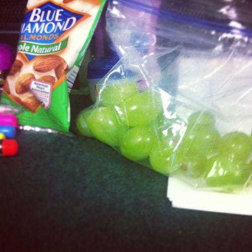 Getting my snack on in class ? Ffrfitness Healthy ILovefruit DeezNutsareExpensive