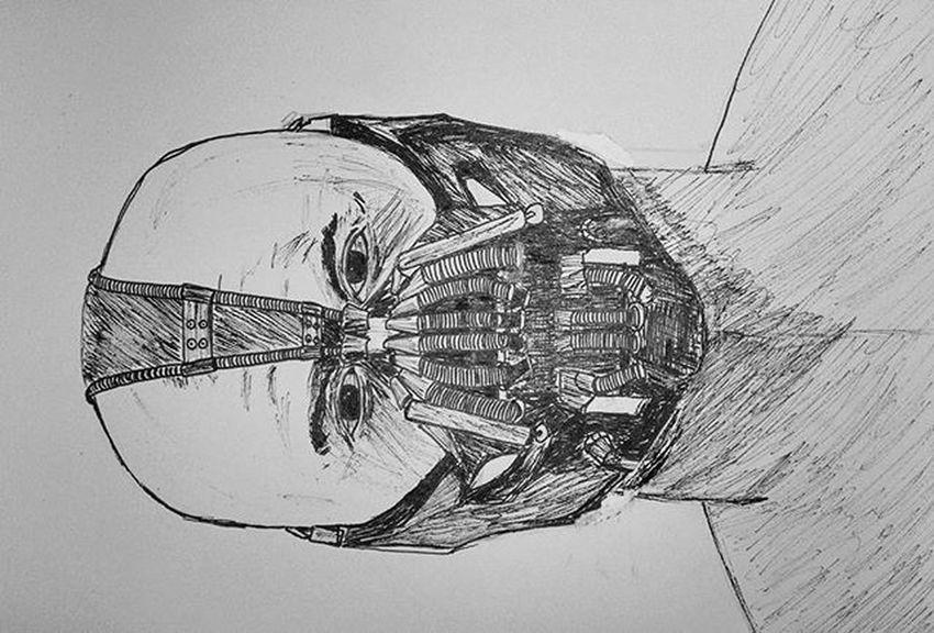 1 Tom Hardy Inktober TomHardy Ink Drawing Sketch