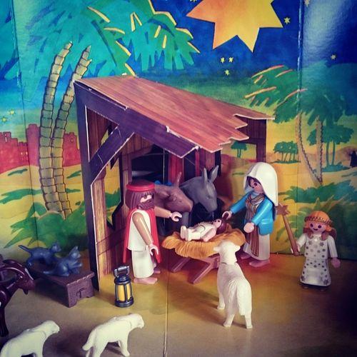Frohe Weihnachten! / Merry Christmas! Xmas Playmobil Allejahrewieder Style