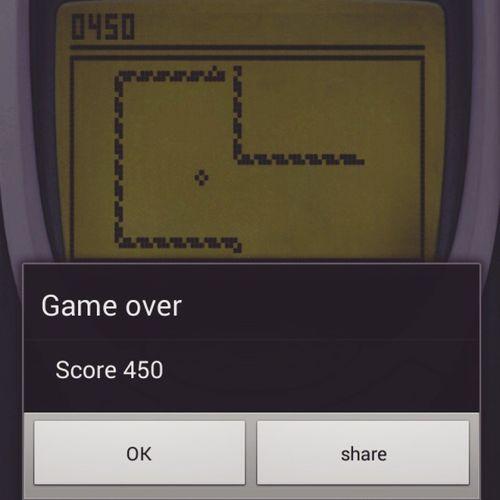 Ol' Skool lah punya game, LegenWaitForIt ... Dary! Legendary Snake Nokia  .