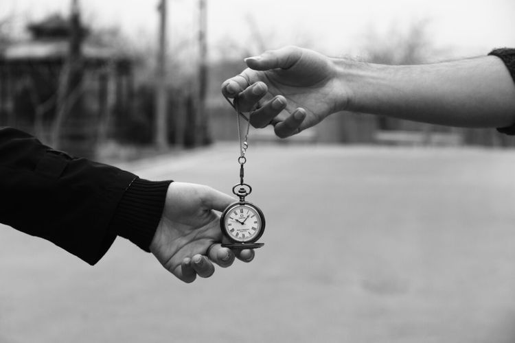 Human Hand Focus On Foreground Human Body Part Men Outdoors Two People Close-up Day People Adult Only Men Adults Only EyeEmNewHere Black And White Friday Hand Watch Iran Time Life Death