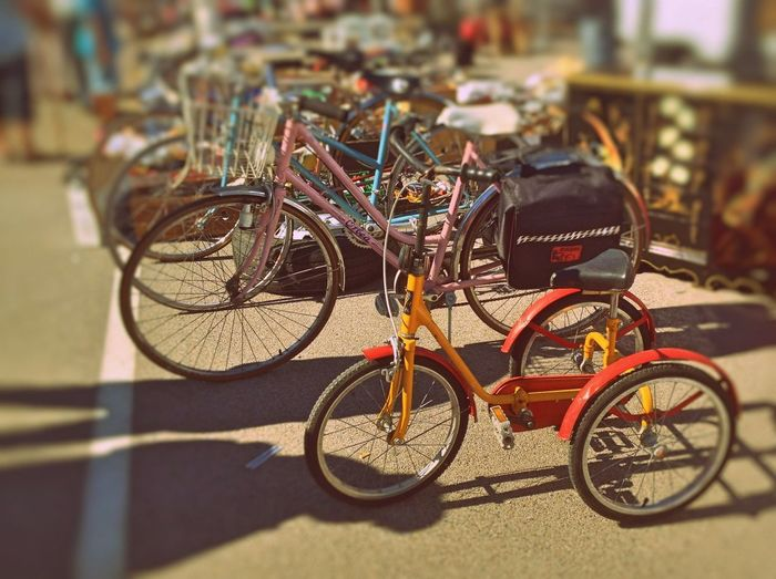 Celebrate Your Ride Secondhand Trade Market Street Photography Street Old Old Bicycle Vintage Childhood Attic Sale Enjoy The New Normal Embrace Urban Life City Life