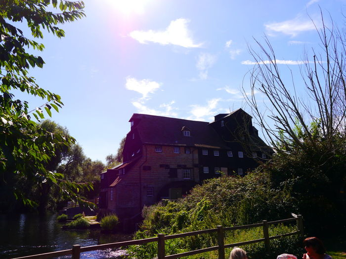 Architecture Building Exterior Built Structure Day Houghton Water Mill National Trust National Trust 🇬🇧 Nature No People Outdoors Sky Sunlight Tree