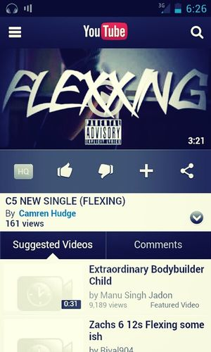 Youtube C5- Flexing