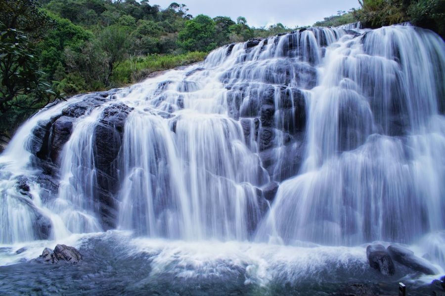 Zisunword Sri Lanka Travel Waterfall Water Environment Scenics Nature No People Beauty In Nature Travel Destinations Day Outdoors