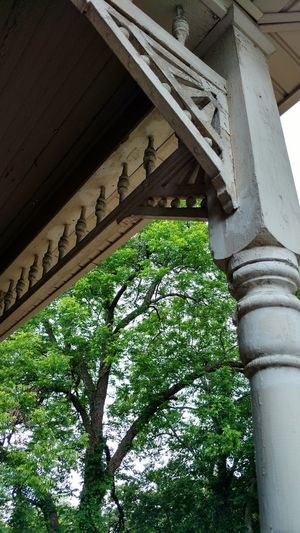 Corners Enhance Old House Victorian Circa 1901 Taking Photos Look Up Angles Looking To See