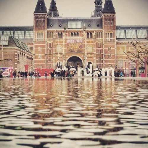 My favourite theme... Fountains amsterdam museumplein march 2016 Iamamsterdam Igersamsterdam Water