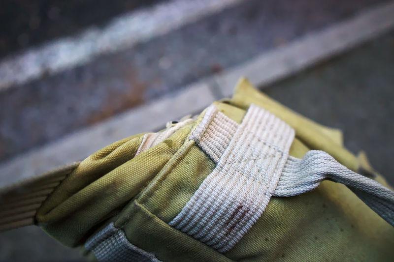 Close-up of bag