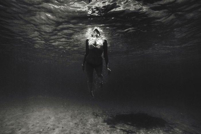 Submerged Check This Out Enjoying Life Swimming Ocean Blackandwhite Gopro The Week On EyeEm Editor's Picks