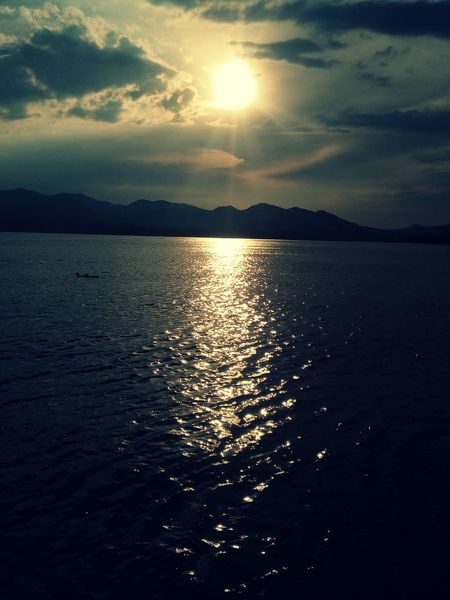 """""""Acapulquito"""" Sunset Water Reflection Nature Scenics Beauty In Nature Sea Sun No People Tranquility"""