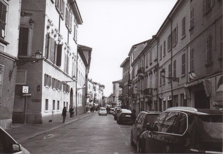 Reggio Emilia, via EmiliaStreet City Building Exterior Outdoors Day Architecture Filmphotography Italia Streetphotography Lines Sky