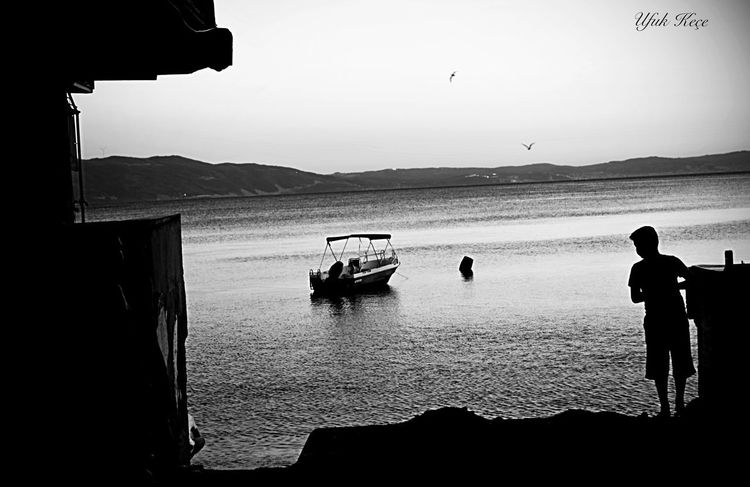 Sea Beach Sunset Silhouette Open Edit Myobjective Photographer Streetphotography Amazing Nikon D5200 Capture Thelastsummerday Kumla,gemlik
