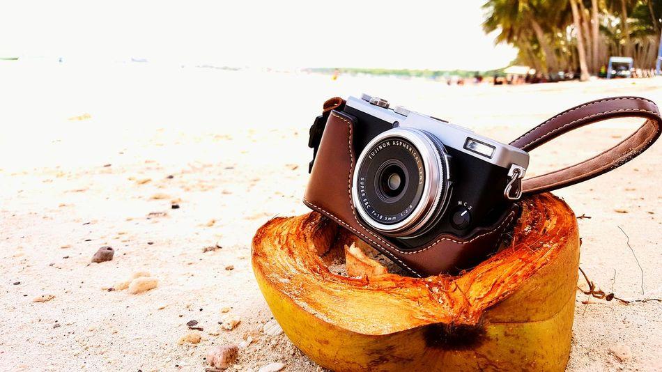Fujifilm FujifilmX70 Camera Beach