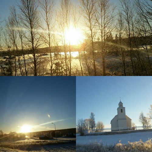 -12 degrees Celsius Winter Morning Storsjökapell Cold White Snow