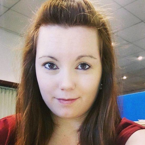 Selfiesofinstagram Selfie Workselfie Ginger redhead reddress browneyes