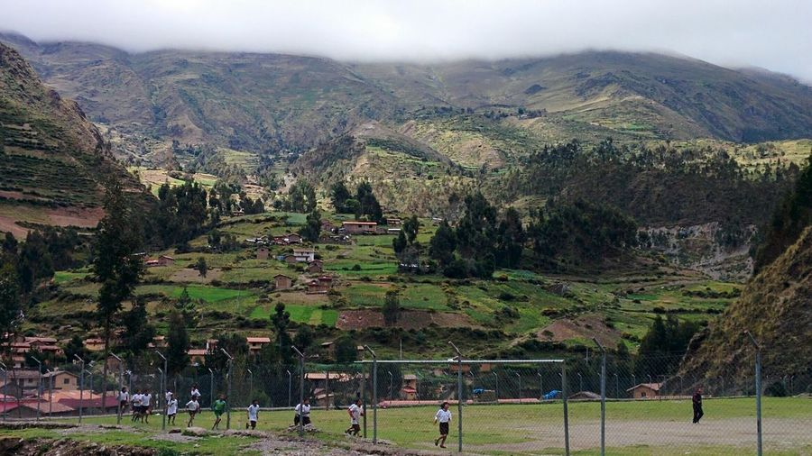 Cusco, Peru Huilloccommunity Andes Mountains Sacredvalleyhealth NGO Landscape Scenics Kids At Play Potatoes on the Field Nature Storm Cloud