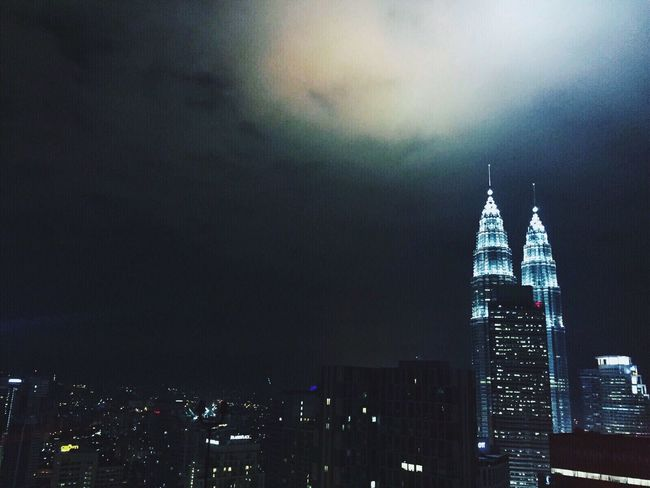 My city, The KL City Skyscraper KLCC Twin Towers