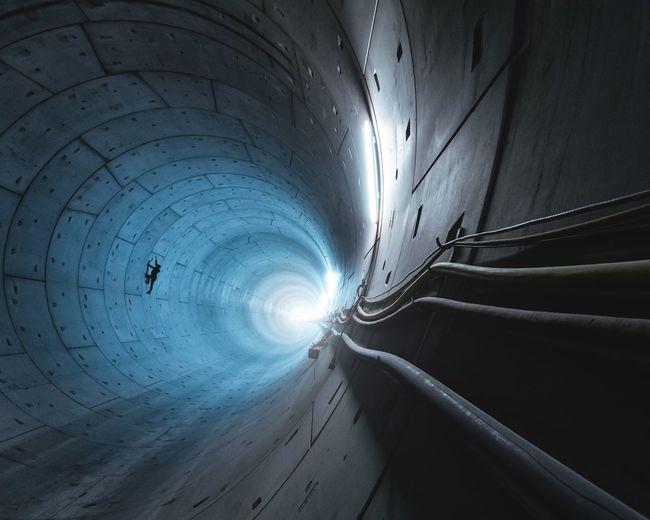 against gravity Tunnel Dark Nikon Underground Illuminated Tunnel Architecture Capture Tomorrow EyeEmNewHere EyeEmNewHere