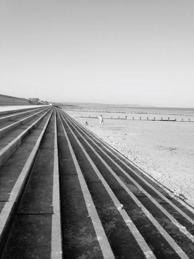 B&w Black & White Blackandwhite Dymchurch Uk Stairs