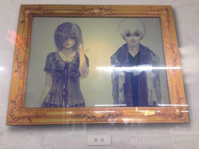 恵比寿 東京喰種 原画展示