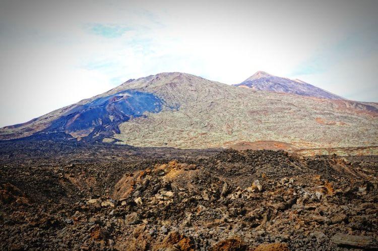 lava field of del teido vulcano at tenerife, national park. Canary Islands Vulcano Teide Del Teide Teneriffa Tenerife