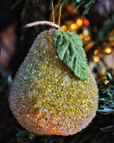 Christmas Christmas Tree Christmas Decoration Celebration Close-up Tradition Christmas Ornament Shiny Holiday - Event Christmas Lights Indoors  Nature Night No People Tranquility Backgrounds Fruit Gold Shiny Objects