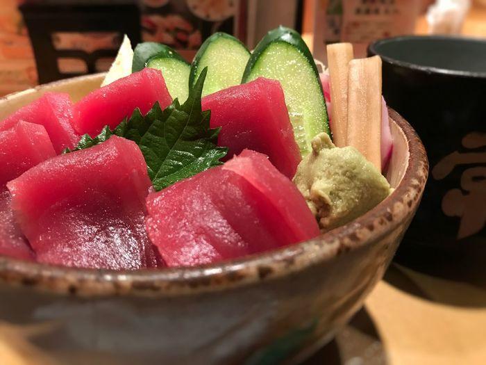sushi SLICE Gelatin Dessert Bowl Sour Taste Close-up Food And Drink Sweet Food Sashimi  Tuna Japanese Food Sushi