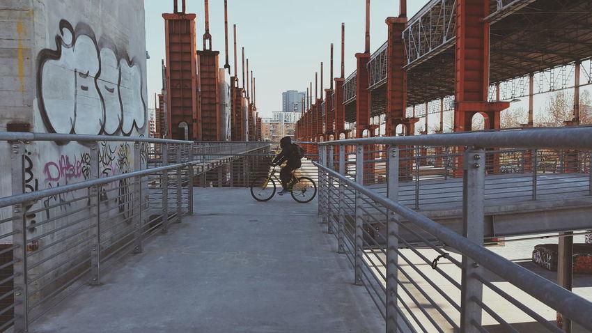 Urban exploration Urbanexploration Torino Turin Parcodora Bikers Graffiti Industrial